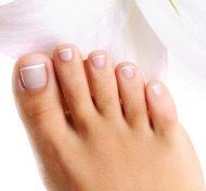 Beautiful toenails