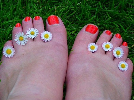 Antifungal Nail Polish on Feet