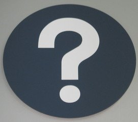 Picture of a Question Mark