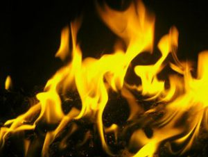 PICTURE OF BURNING FIRE