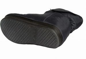 PICTURE OF SHARPER IMAGE RECHARGEABLE HEATED SLIPPERS