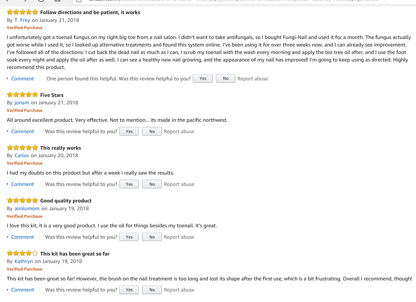 Picture of Awesome Reviews on The Best Cure for Toenail Fungus