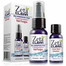 PICTURE OF ZETA CLEAR NAIL SOLUTION