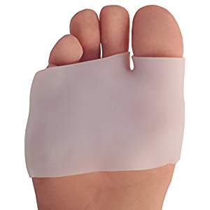 PICTURE OF DR. FREDERICK'S ORIGINAL HALF TOE SLEEVE METATARSAL PAD