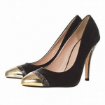 PICTURE OF POINTED HIGH HEEL SHOE