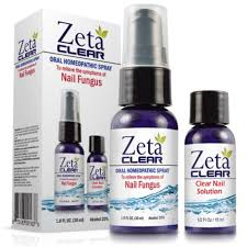PICTURE OF ZETA CLEAR NAIL SOLUTION AND ORAL HOMEOPATHIC SPRAY
