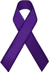 PICTURE OF FIBROMYALGIA RIBBON FOR POST FIBROMYALGIA AND FOOT PAIN