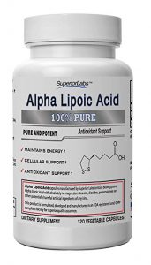 SUPERIOR LABS ALPHA LIPOIC ACID SUPPLEMENTS