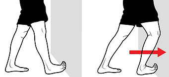 soleus stretch for how to treat heel pain